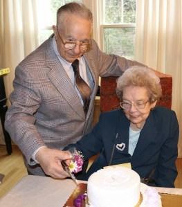 Grandparents 65th anniversary picture