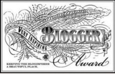 very-inspirational-blogger badge