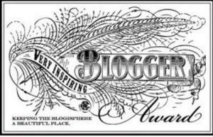 very-inspirational-blogger badge