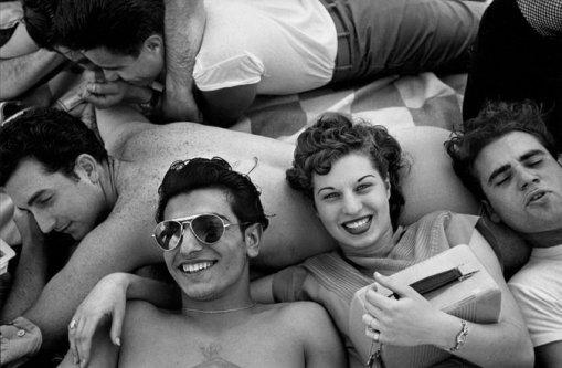 Coney Island Teenagers Harold Feinstein
