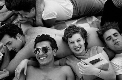Coney Island Teenagers Harold Feinstein