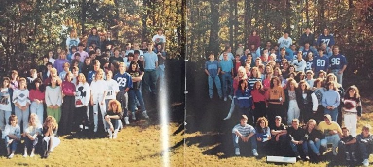 HS class picture